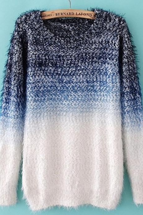 Gradient Fashion Sweater