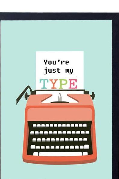 gift for Husband -Engagement, Anniversary or Wedding Gift idea- You're My type