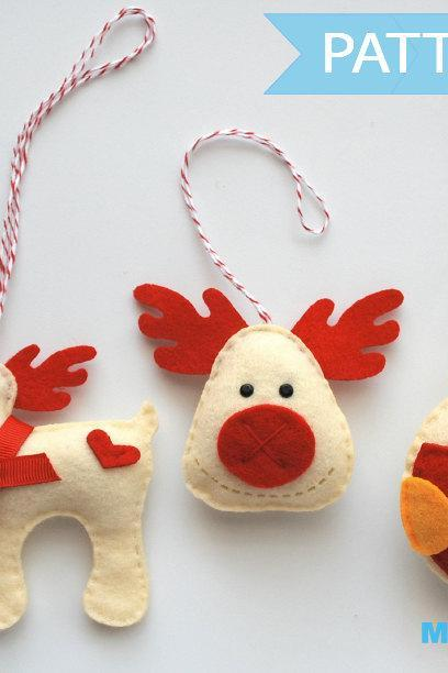 Christmas ornament set Sewing Pattern A1091