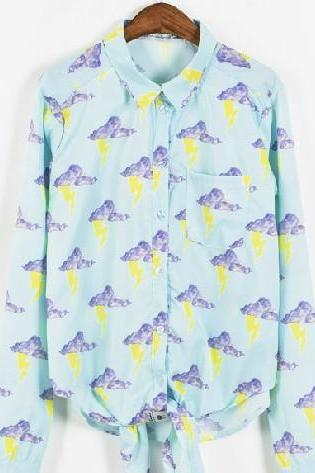 Spring Fall 2014 Thunder Harajuku Shirt