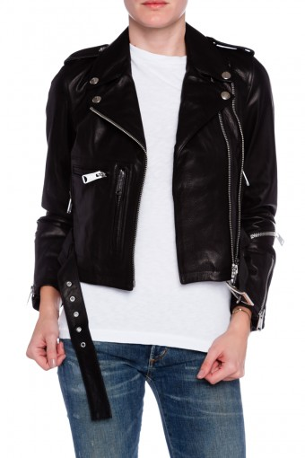 WOMENS BIKER LEATHER JACKET, LEATHER JACKET WOMEN, BLACK MOTORCYCLE LEATHER JACKET WOMEN