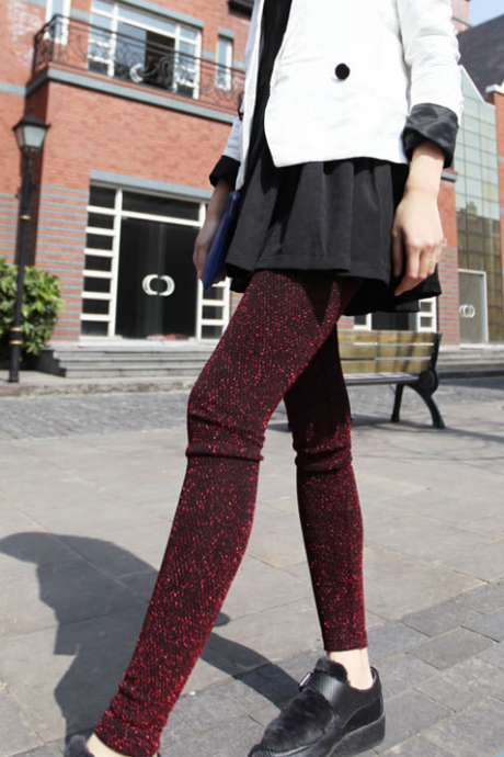 In autumn 2015 super bomb lady nine Leggings