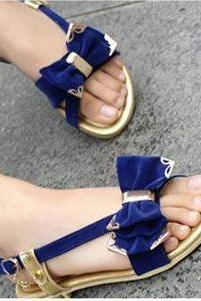 Handmade Elegant Casual Wear Flat Sandals