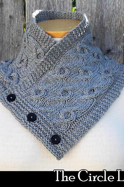 The Circle Line Cowl knitting pattern