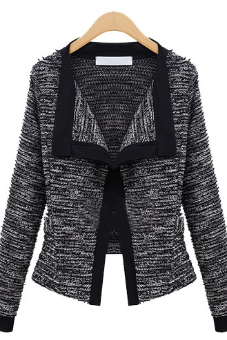 European and American fashion women's quality linen sleeved cardigan jacket loose short ladies
