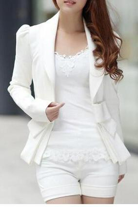 Fashion bow long-sleeved jacket AD100711HJ