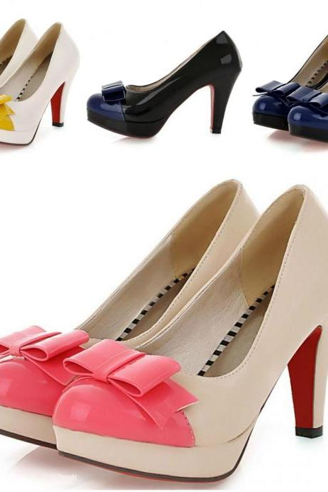 Adorable Bow Knot Fashion Shoes In 3 Colors