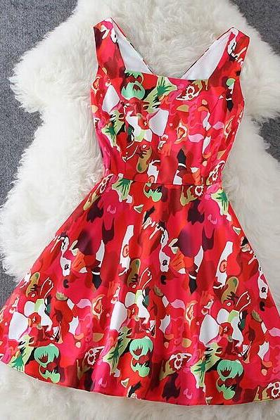 Fashion Print Dress