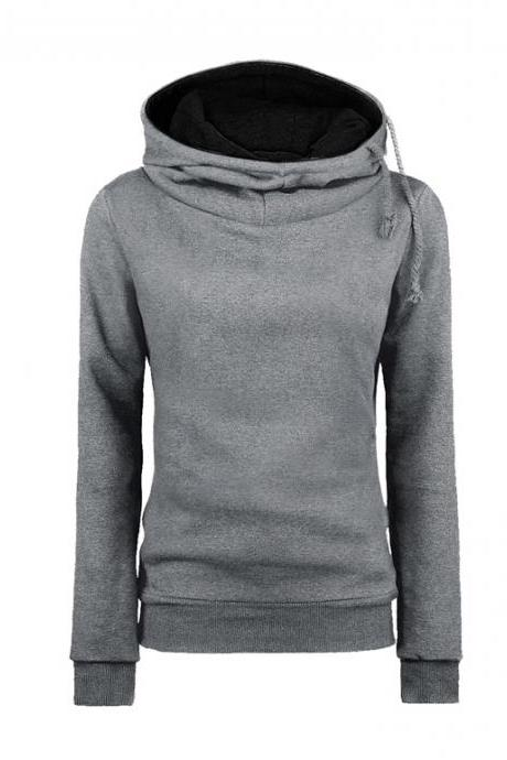 Girls Hoodie - Fashion Hot Hooded Assorted Colors Thick Women Hoodie