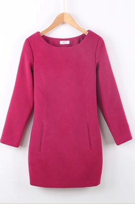 Winter Of Cultivate One's Morality Dress Long-Sleeved Dress
