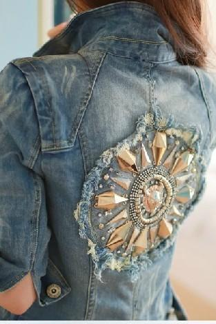 Slim denim jacket AD101015HJ