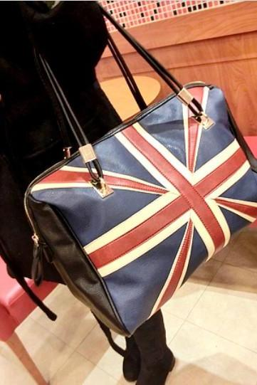 Flag Print Fashion Handbag