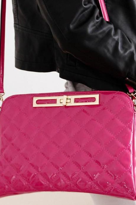 2013 New Fashion Women Grid Shoulder Bag