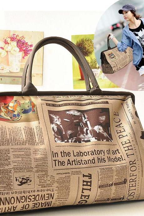 New Hobo Fashion Retro Women leather Tote Handbag Shoulder Bag/purse/Satchel