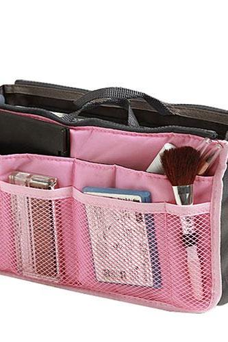 Multiple Color Makeup Cosmetic Bag Wash Toiletry Travel Case