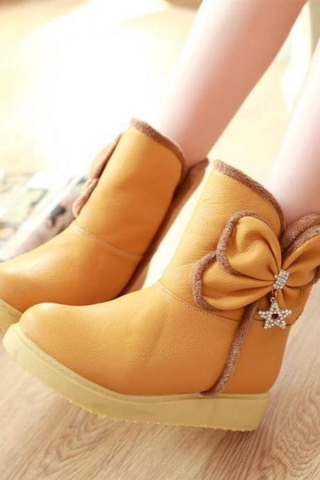 bow fashion warm boots PO1017EA