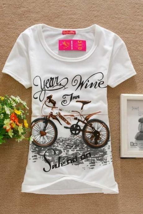 Adventure bicycle sport girl top