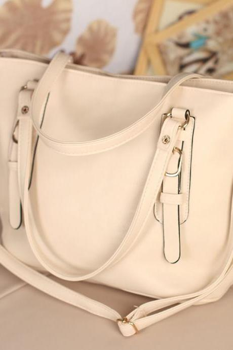 Fashion Simple Belt Messenger&Shoulder Bag
