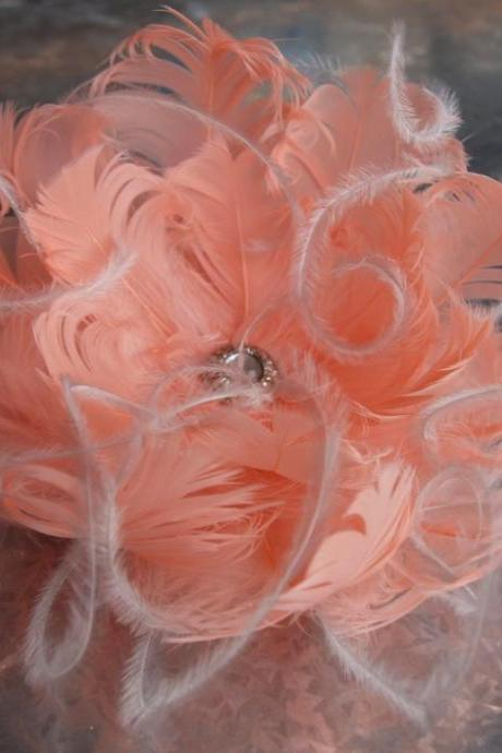 Bridal Feather Flower