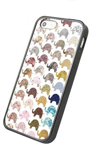 Lovely Elephant - iphone 4 4s case iphone 5 5s 5c case iphone 6 6 plus case ipod touch 4 ipod touch 5 case