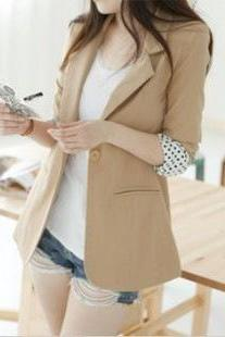 Fashion wave point suit jacket ZZ1024BA