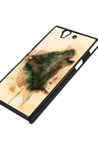 Art wolf - Sony Xperia Z case