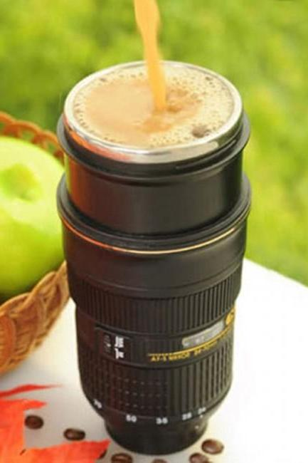 Cool Unique Camera Lens Cup