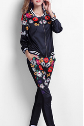 2015 new winter Juicy Couture autumn two piece suit
