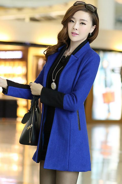 High Quality Wool Jacket Pink Jacket-Pink Winter Coat For Women