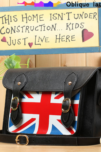 British Flag Shoulder Messenger Bag