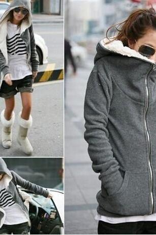 Thick Warm Hooded Sweater
