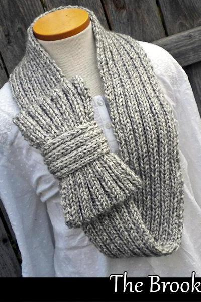 The Brooklyn Cowl knitting pattern