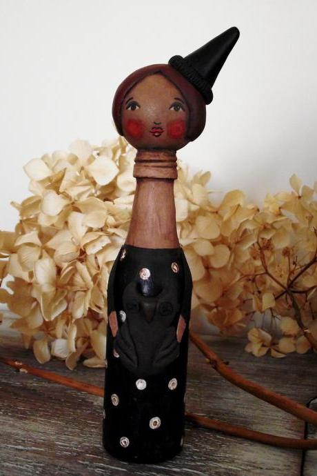 Gilda the witch - 'Bottle Whimsies' collection doll