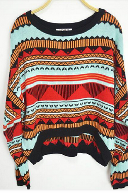 Pope Wind Triangle Totem Sweater