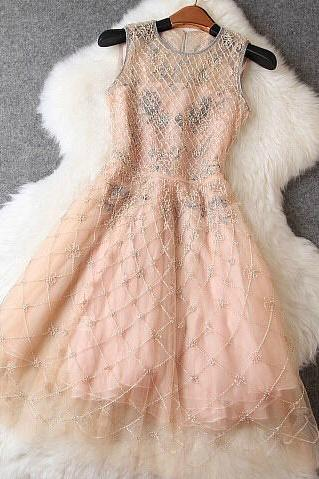 Luxury Heavy Beaded Dress