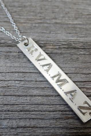 Men's Necklace - Men's Personalized Necklace - Men's Custom Necklace - Mens Jewelry - Men's Custom Jewelry - Gift for Him