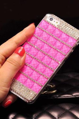 Bling Crystal Diamond iPhone 4 case,Bling iphone 4s case,Crystal iphone 4 Case,Luxury Bling crystal iphone 5 case cover,Bling crystal iphone 5s case Hot Pink