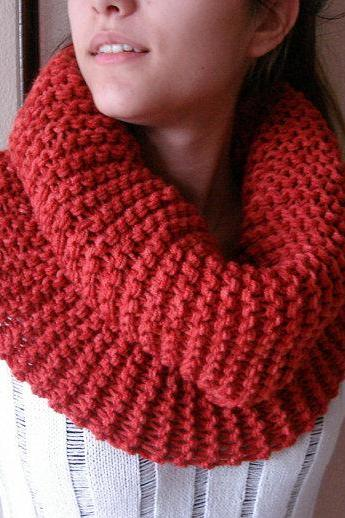 Womens Scarf Chunky Cowl, thick