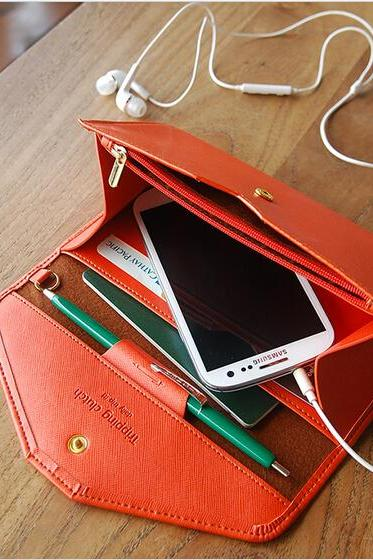 New Look Sale Women Fashion Coin Purse Mobile Phone Multifunction Envelope Purse