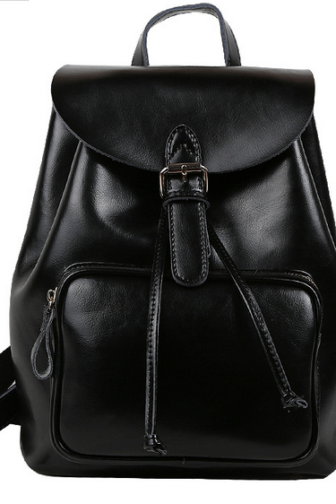 2015 new leather backpack quality handbags pastoral lady bag