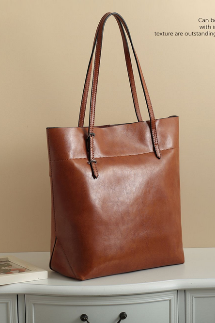 European and American fashion leather bag bag