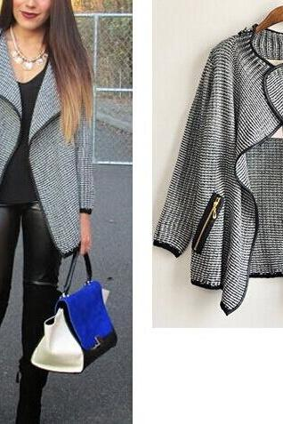 Knitwear fashion coat CS1104EJ