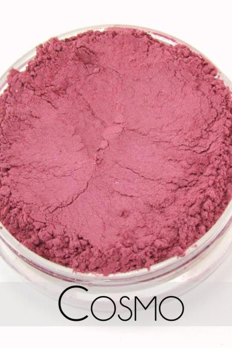 Mineral Blush, Vegan Mineral Makeup, Vegan Blush, Natural Makeup, Cruelty Free - - Cosmo