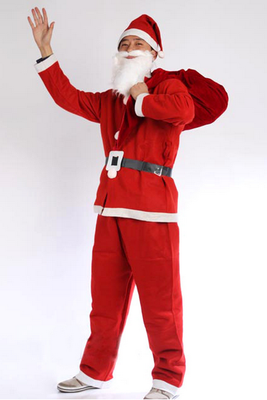 Christmas 5 sets of clothing a Santa suit