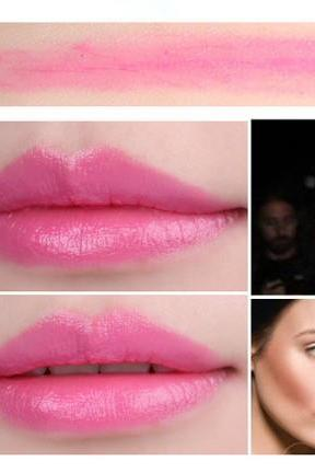 Sale Vintage Pose Pink Waterproof Daily Candy Sweet Color Lipstick Long Lasting Matte Smooth Moisturized Glitter Honey lipstick Cosmetic Lip Gloss Sweet Girl Makeup Lipstick Gift for Her