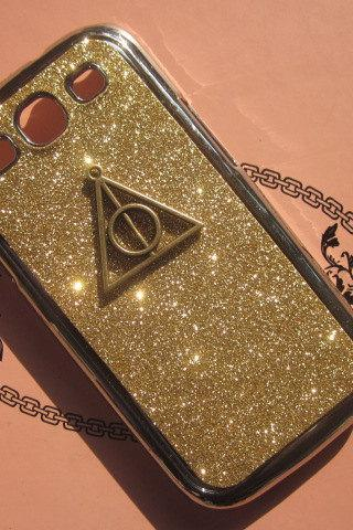 Glitter Deathy Hallows Case iPhone 6 plus case,iphone 5/5s/5c/4s/4 ,Samsung Galaxy S3/S4/S5 cover,Samsung Note 1/2/3/4,Mega 5.8/6.3,Htc One