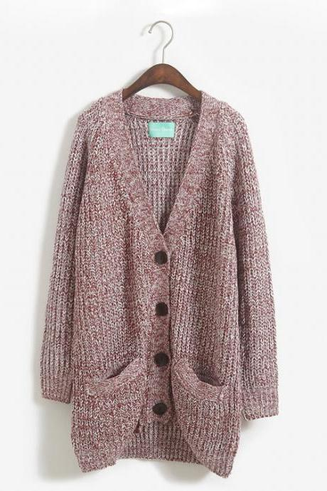 Wild Loose Sweater Cardigan Coat