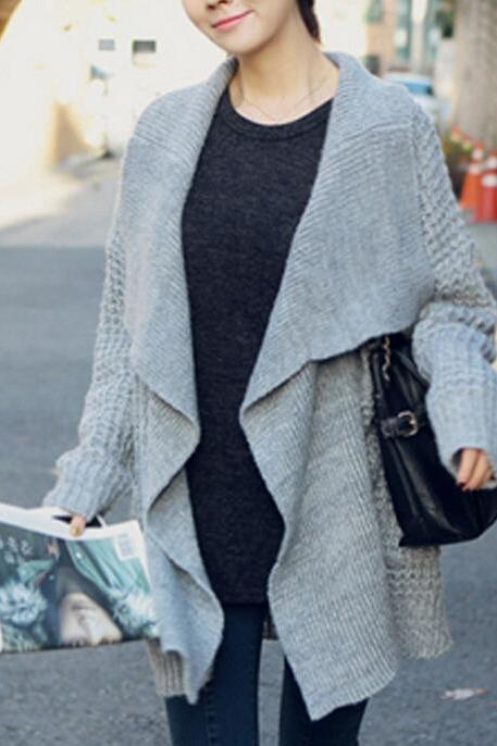 Fashion Loose Long-sleeved Sweater AW915CF