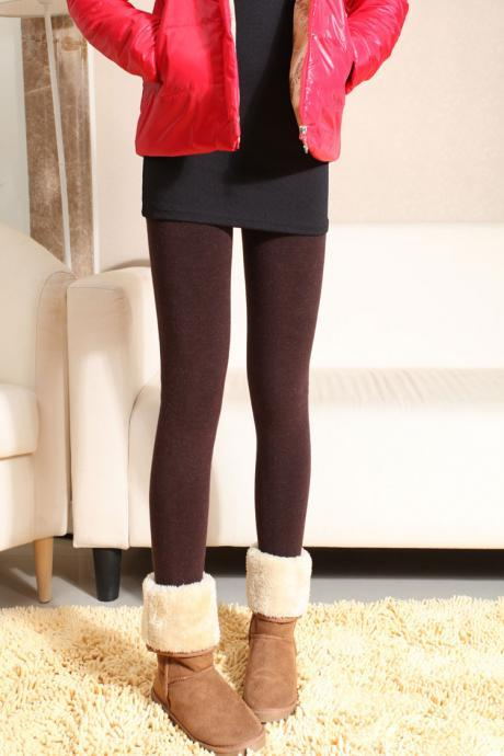 Warm Cotton Winter Leggings in 2 Colors