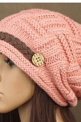 Winter new arrival cute cotton girl hat